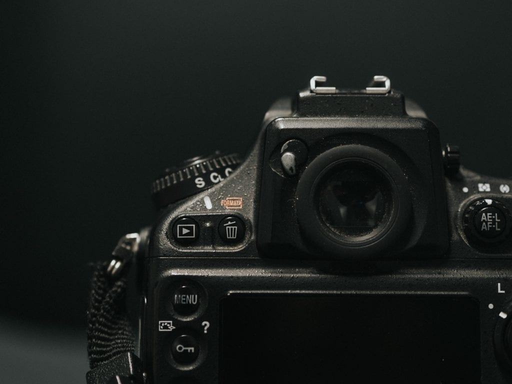 Nikon D700 etsin.