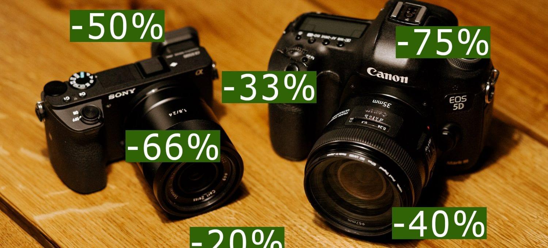 Sony a6500 ja Canon 5D Mark III.