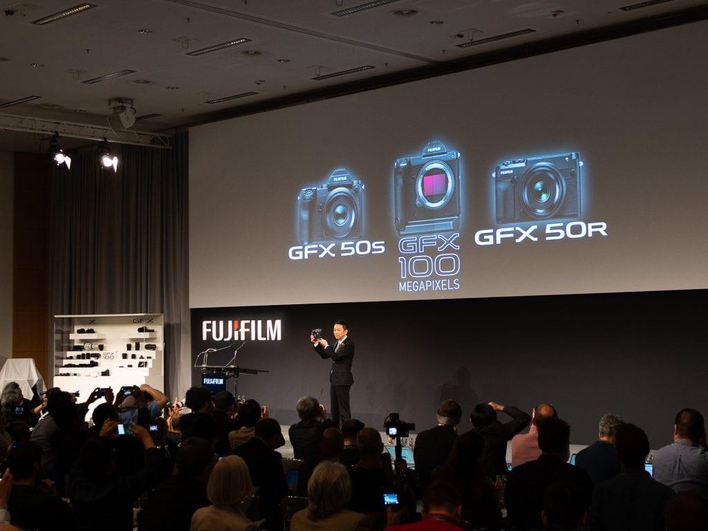 Fujifilm GFX 100 Photokinassa 2018.