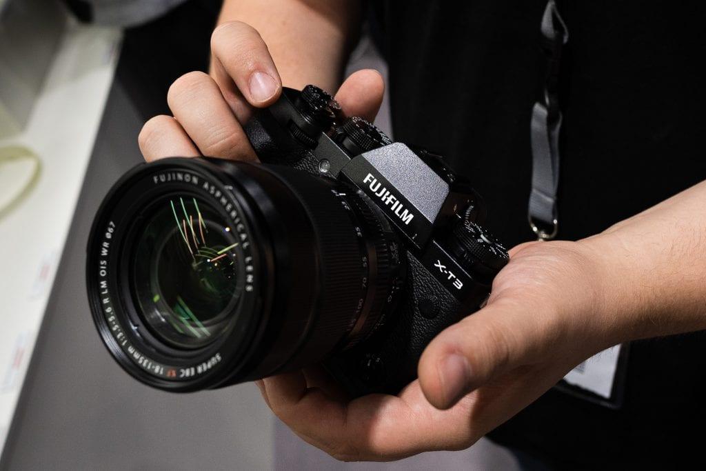 Fujifilm X-T3 ensituntumat Photokinassa