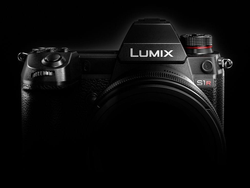 Panasonic Lumix S1R markkinointikuva
