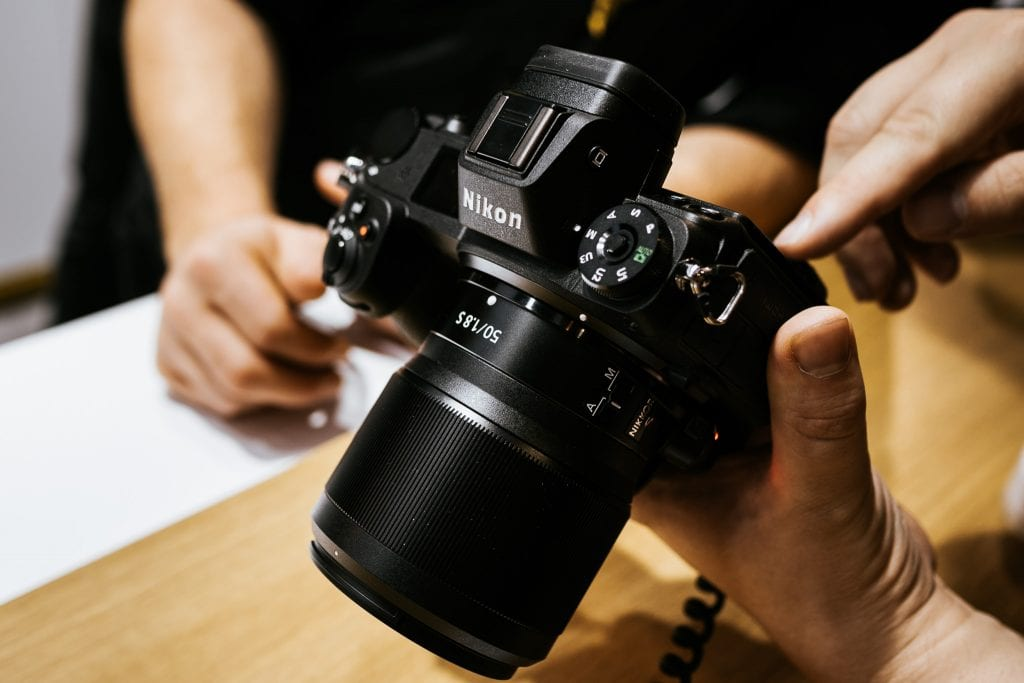 Nikon Z7 ja NIKKOR Z 50mm f/1.8 S