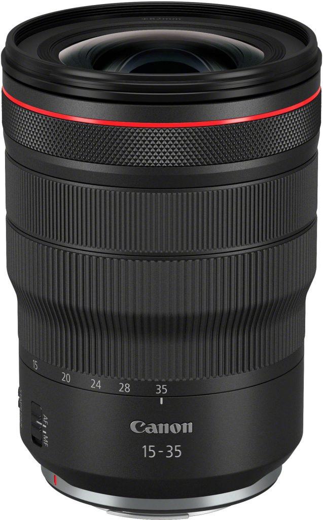 Canon RF 15-35mm f/2.8L IS -objektiivi.