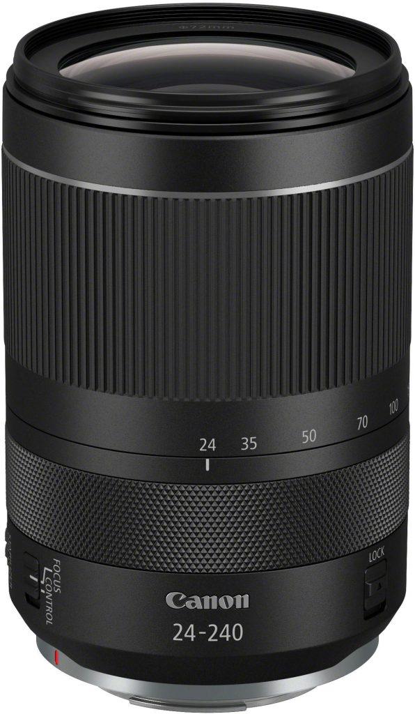 Canon RF 24-240 f/4-6.3 IS -objektiivi.