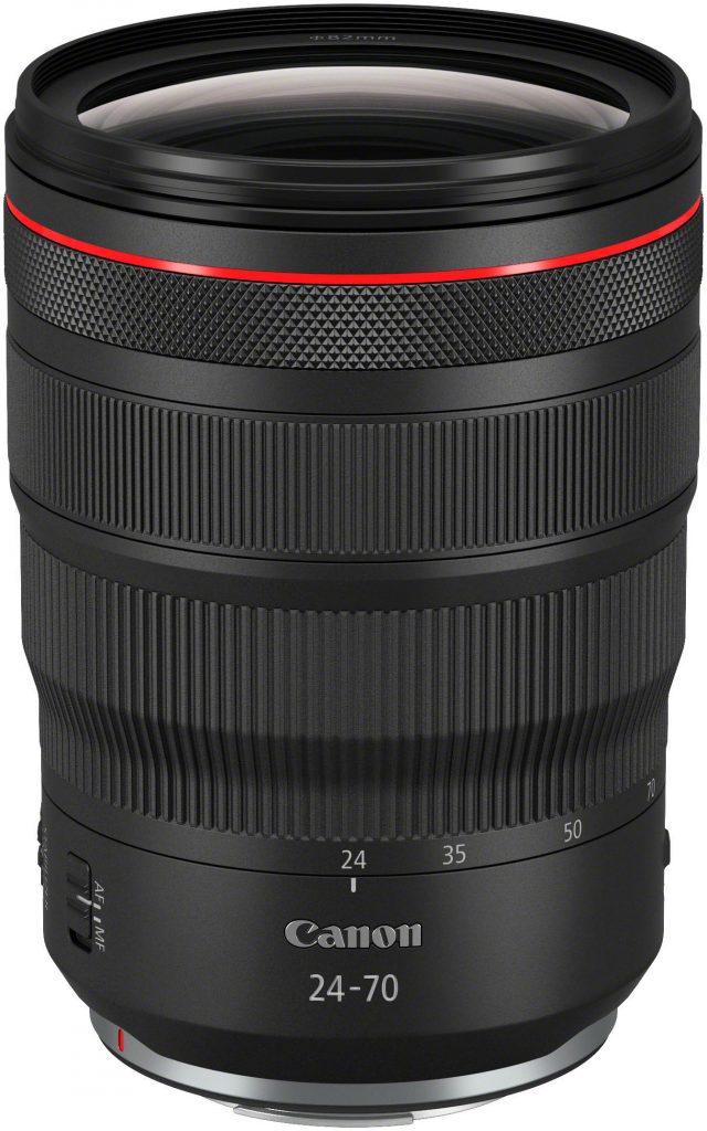 Canon RF 24-70 f/2.8L IS -objektiivi.
