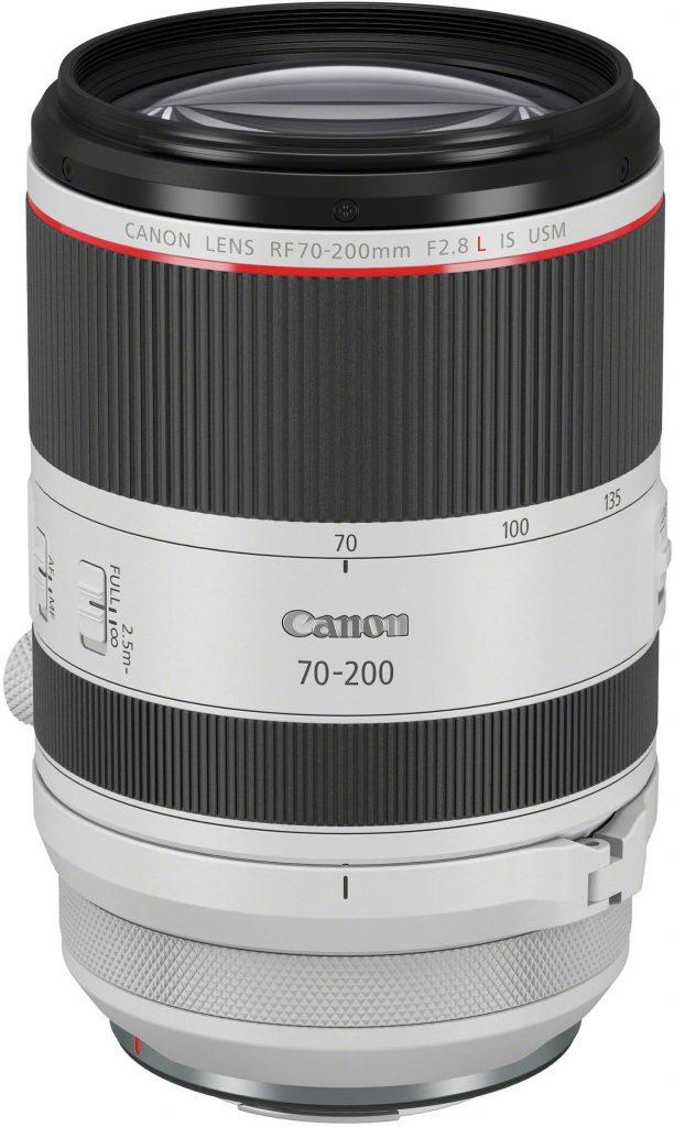 Canon RF 70-200 f/2.8L IS -objektiivi.