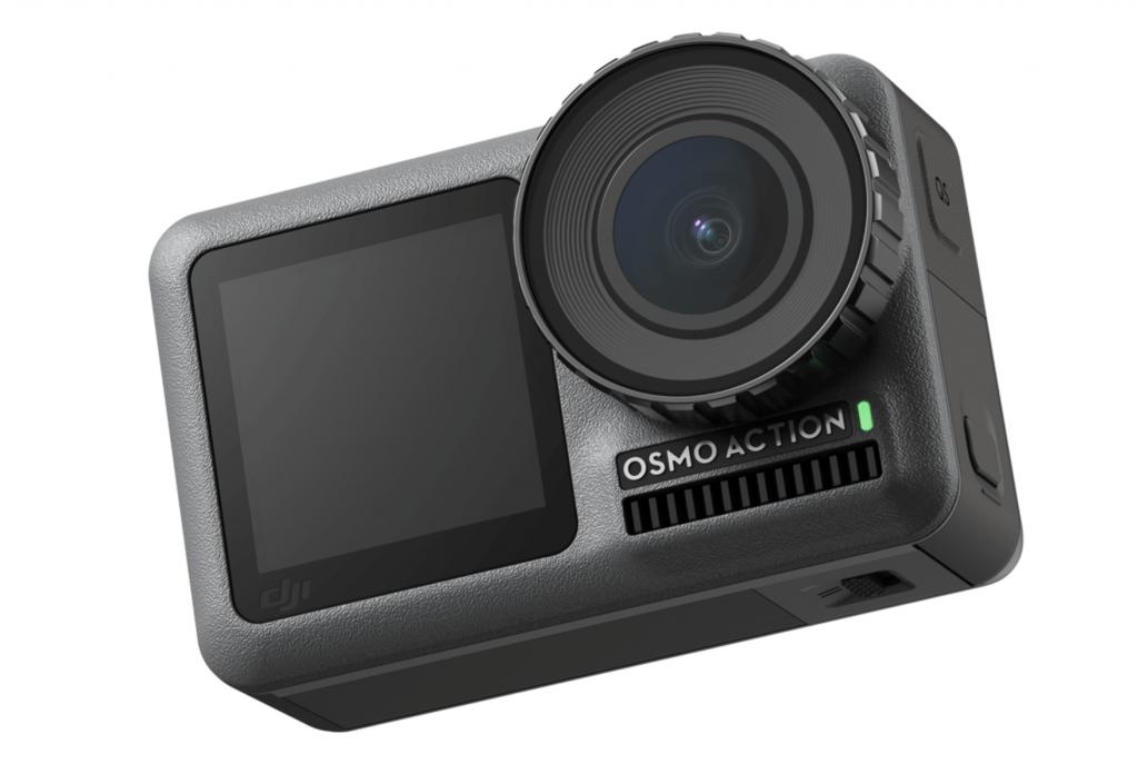 DJI kotisivuilta haettu tuotekuva DJI Osmo Action kamerasta