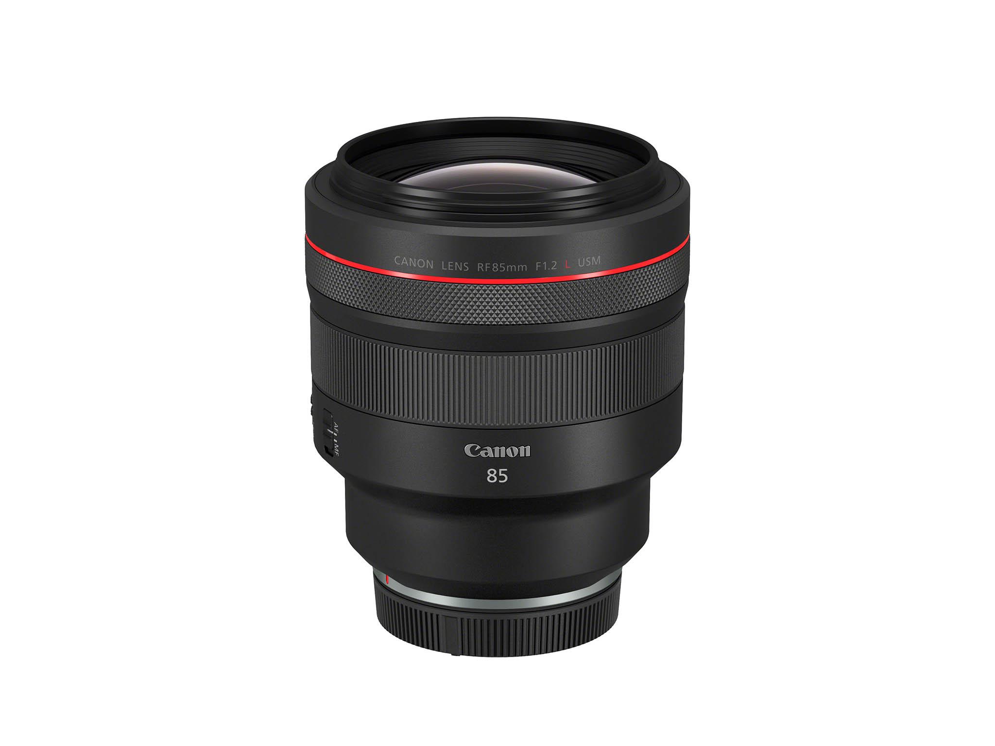 Canon RF 85mm F1.2 L USM objektiivi.